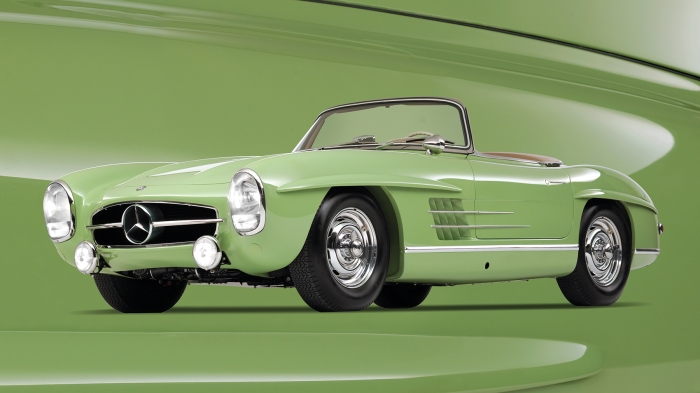 1957 300 Mercedes Benz SL Rallye Roadster